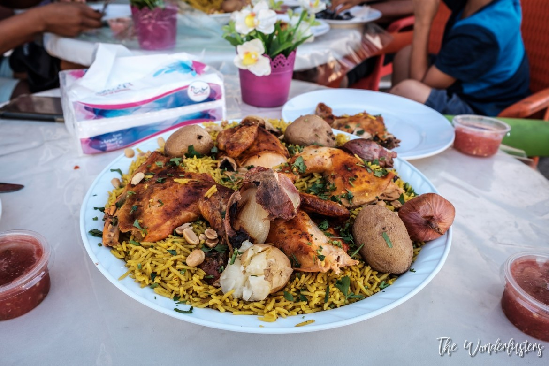 Maqluba - a Jordan Specialty