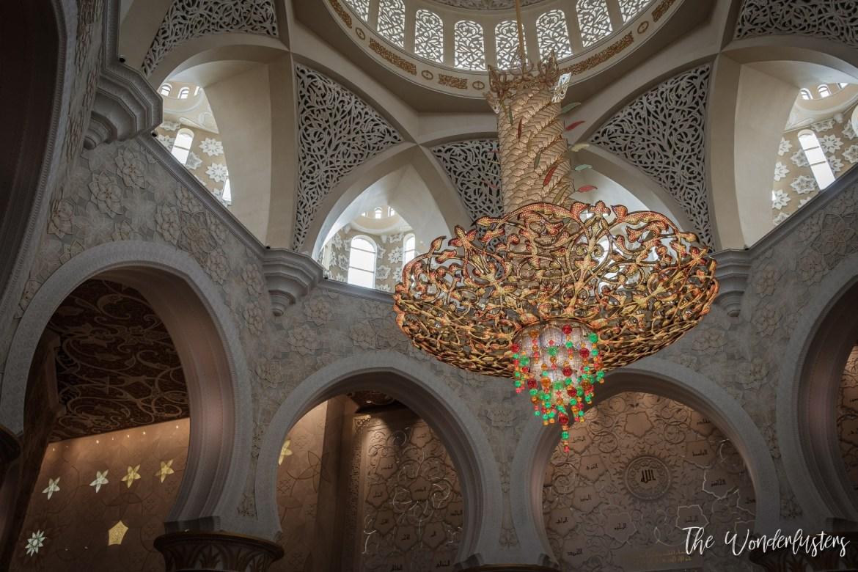 Sheikh Zayed Mosque - Interior
