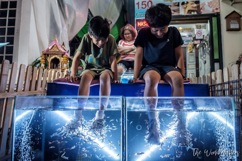 Fish Foot Massage