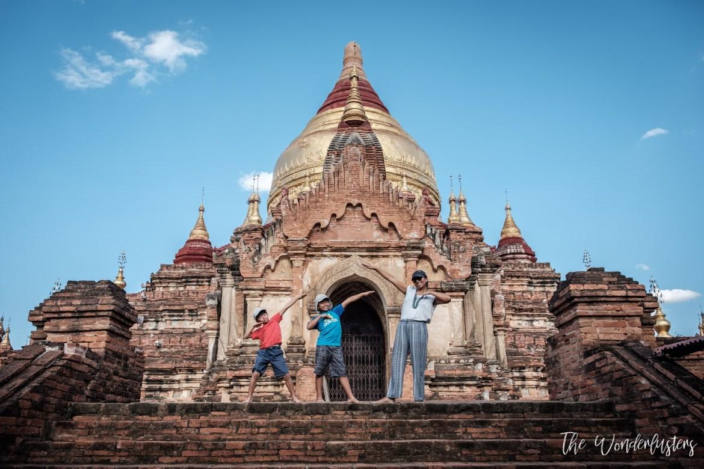 Dhamma Ya Zika Pagoda, Bagan