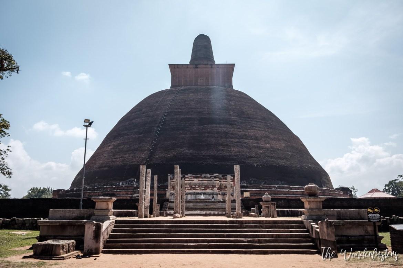 Jethawanaramaya Dagaba, Anuradhapura