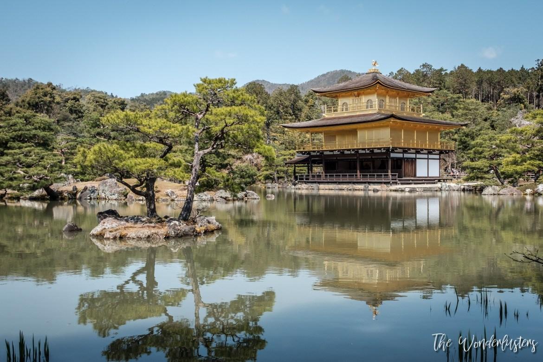 Kinkakuji, Golden Pavilion