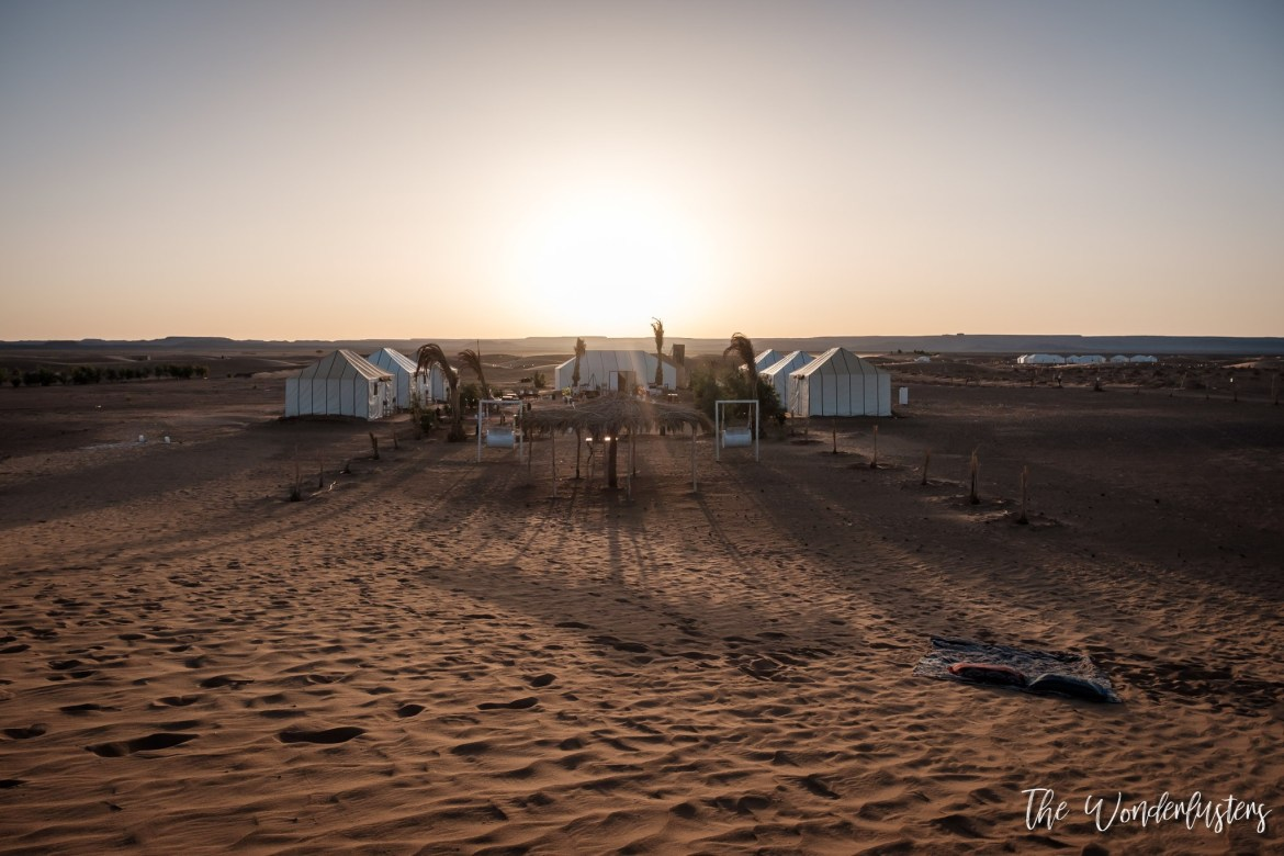 Camping at Erg Chebbi