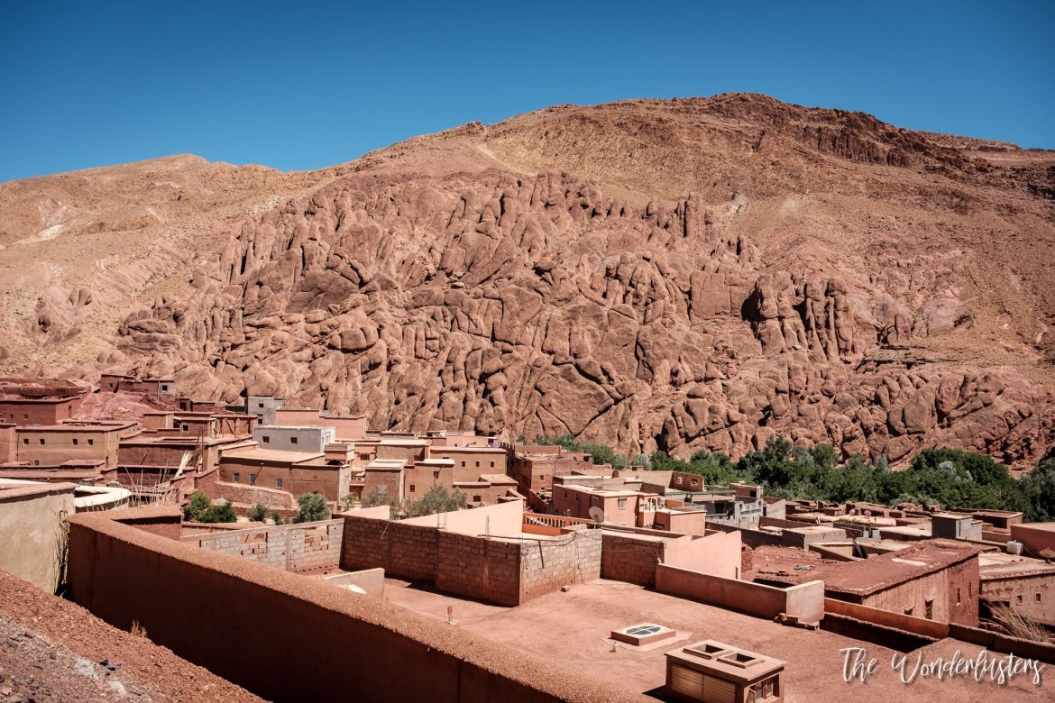 Monkey Fingers at Dades Valley