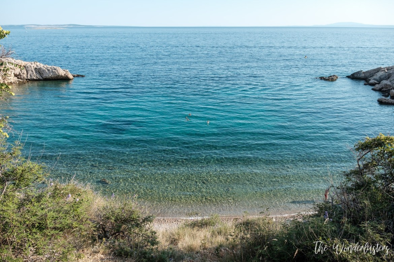 Oprna Bay, Krk