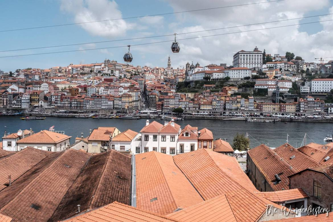 Porto - View from Vila Nova de Gaia