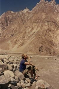 Yours Truly in the Hunza Valley