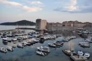 Vue sur le fort et le port