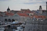 Vue sur les toits de la citadelle