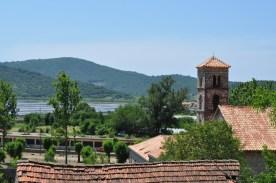 Sel et vignoble en croatie
