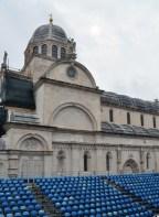 Cathedrale saint-jacques de sibenik en croatie