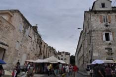 Marché de split en croatie