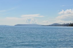 Vue sur les îles depuis split