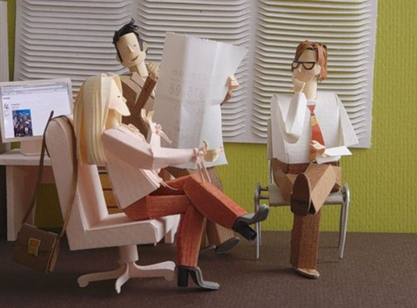 Awesomely Creative Paper Artworks | The Wondrous Design Magazine