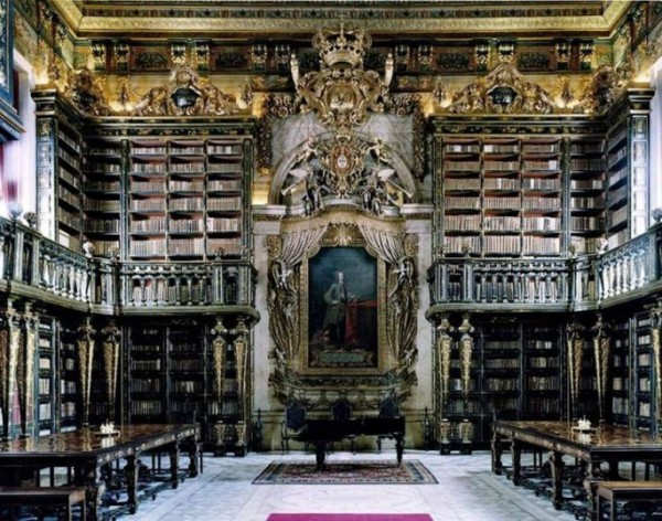 Common Library of the University of Coimbra, Portugal