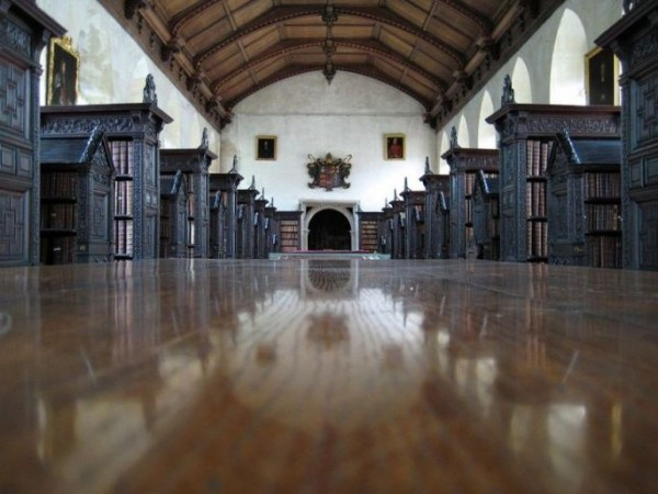 Old Library, St John College, Cambridge, UK