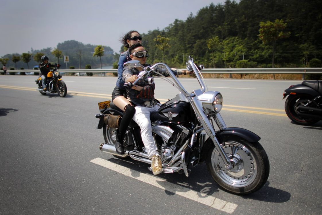 5th Annual Harley Davidson National Rally In China 26