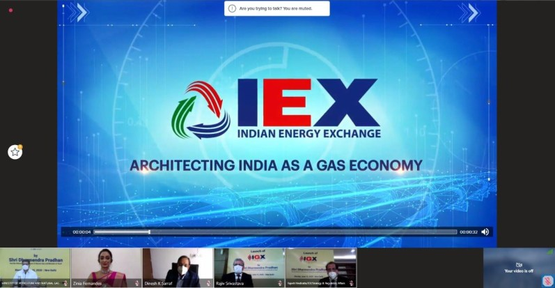 India's First Gas Exchange