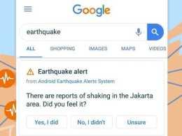 Google earthquake prediction