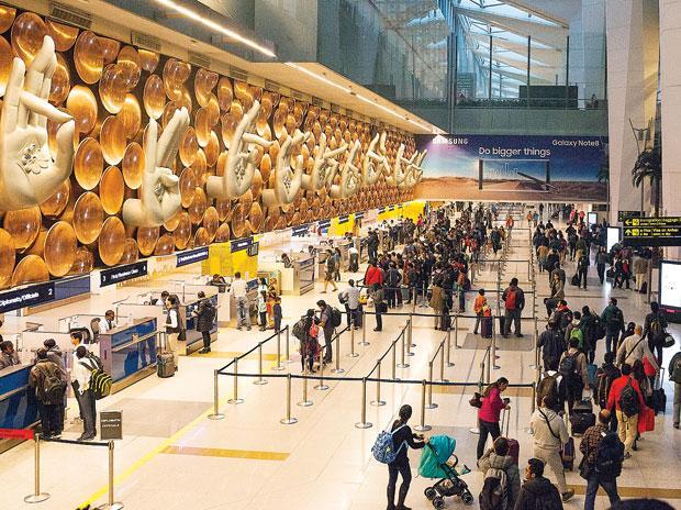 sensors at delhi airport
