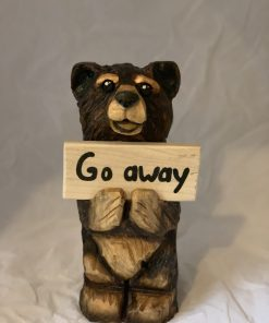 Small go away bear