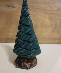 Christmas Tree Chainsawl Carving