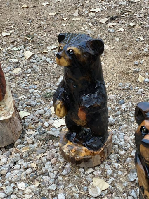 bear chainsaw carving