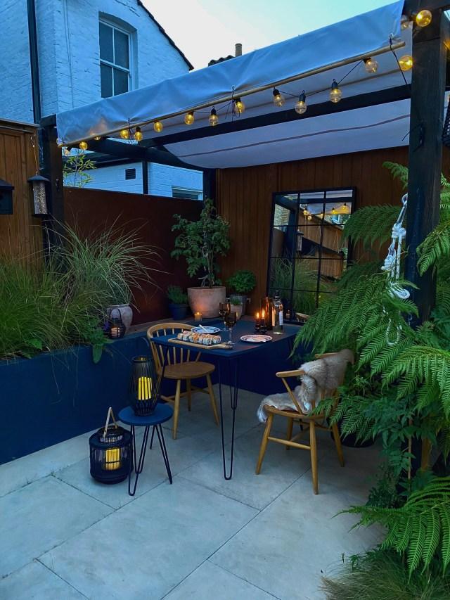 Small space garden design.