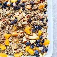 Healthy Oatmeal Bake