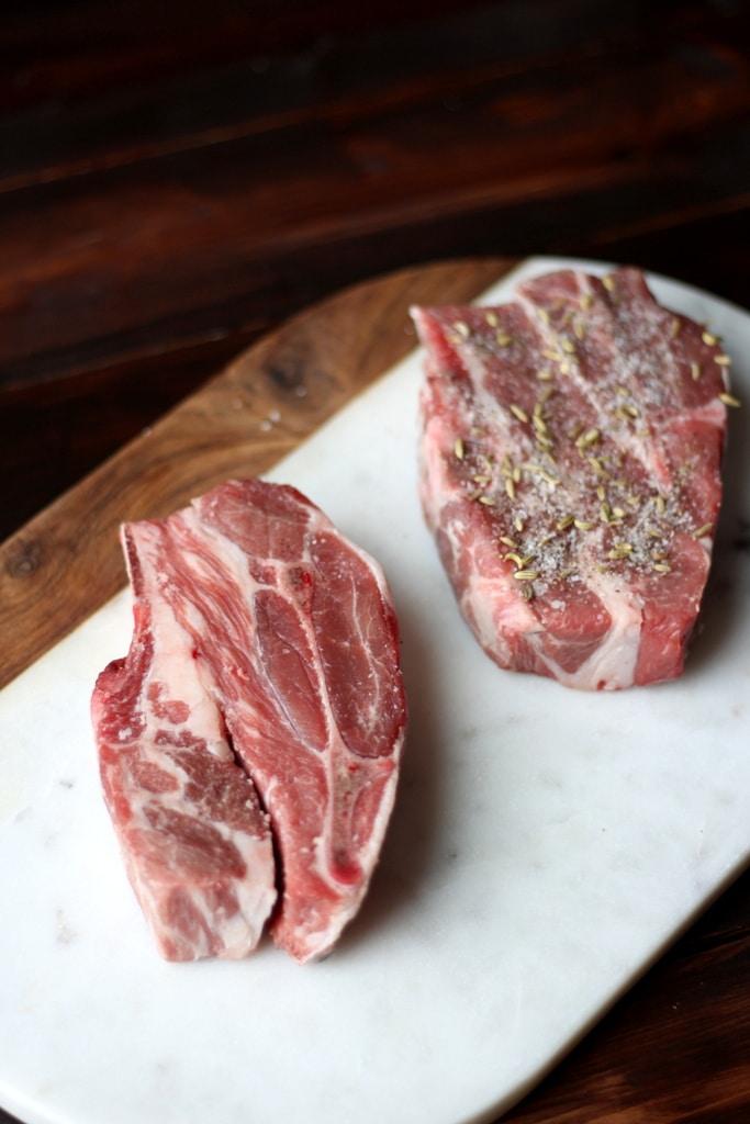 Braised Lamb Shoulder - thewoodenskillet.com