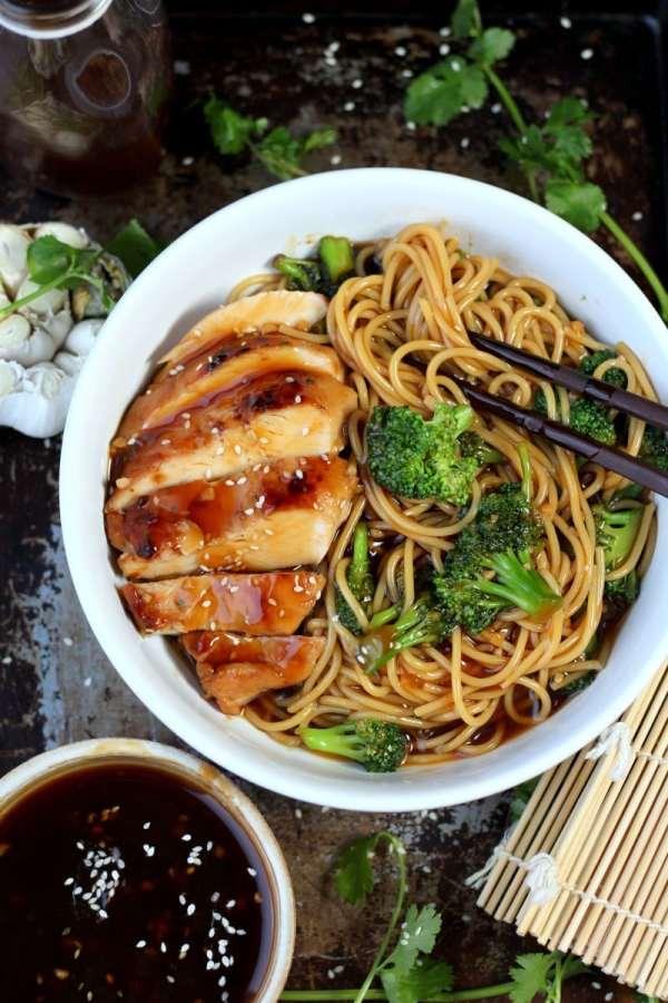 Simple Teriyaki Noodles