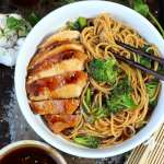 Simple Teriyaki Noodle Bowl