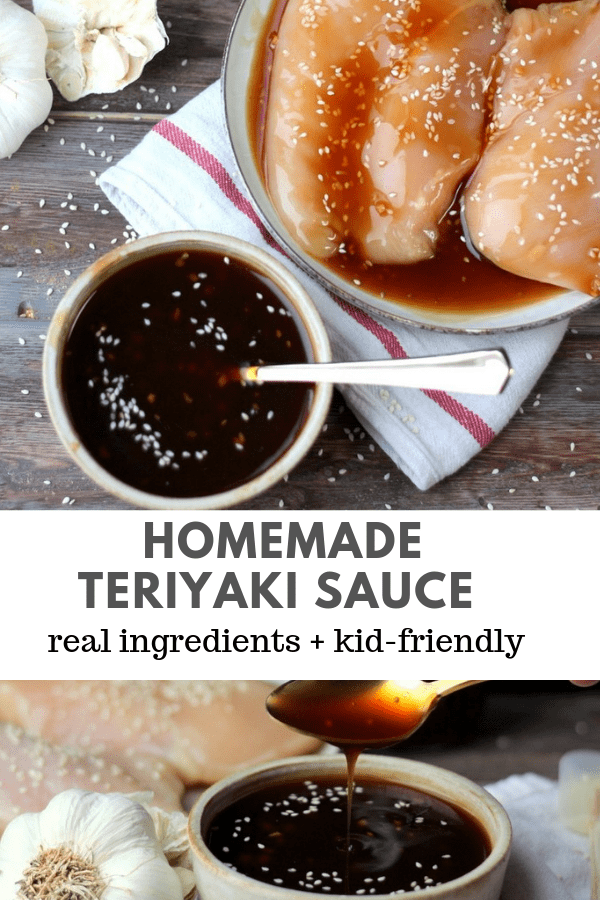 How to Make Homemade Teriyaki Sauce - never buy it from the store again! #homemadeteriyaki #howtomaketeriyaki #teriyakirecipes