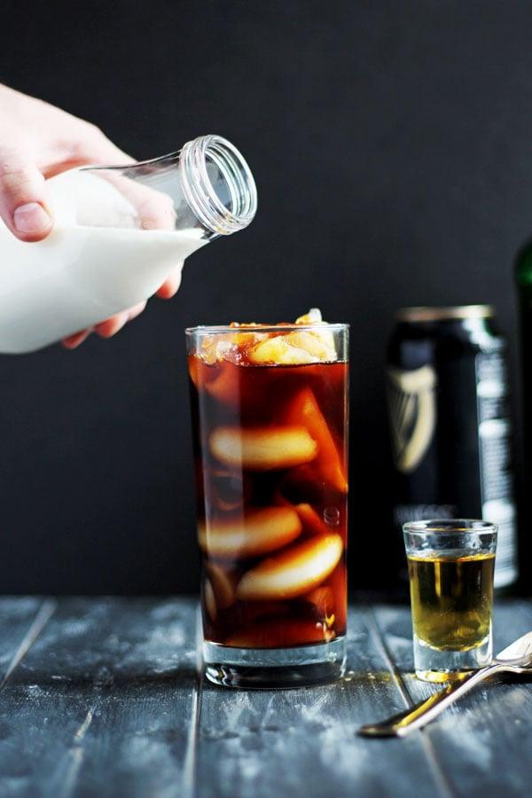 Irish Cold Brew + Cream and Sugar