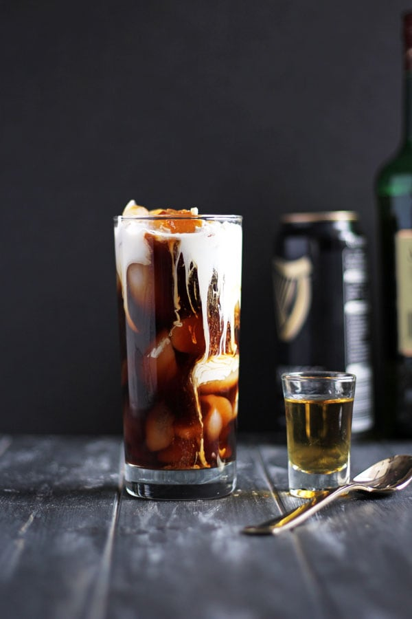 Irish Cold Brew + Cream and Sugar