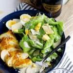 15 Minute Ghee + Turmeric Chicken Caesar Salad