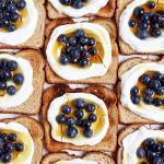 Simple Breakfast Yogurt Toast + Flax and Honey