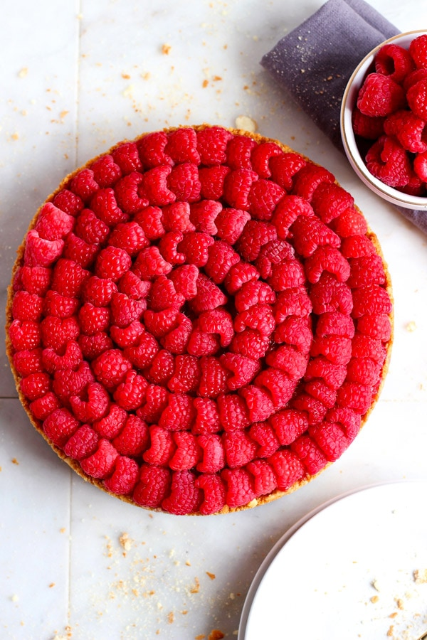 No Bake Raspberry Pie + Driscoll's Sweepstakes!
