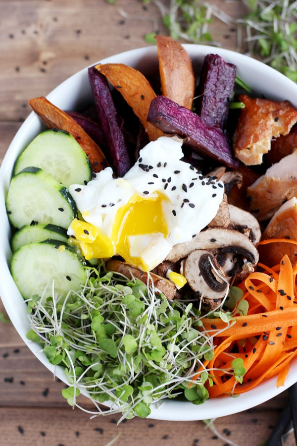 Healthy Autumn Goddess Bowl