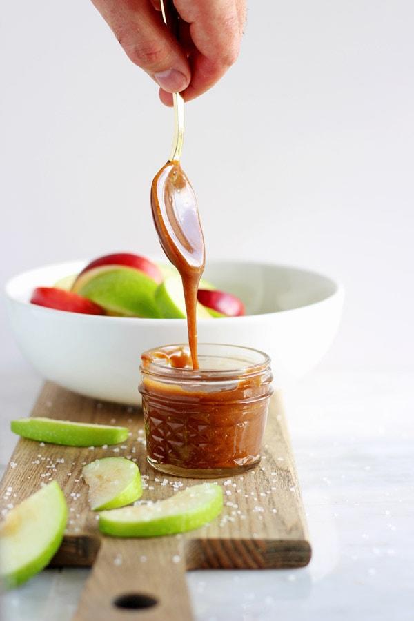 Easy Vegan Salted Caramel Sauce