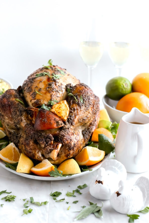 Citrus Herb Roasted Thanksgiving Turkey