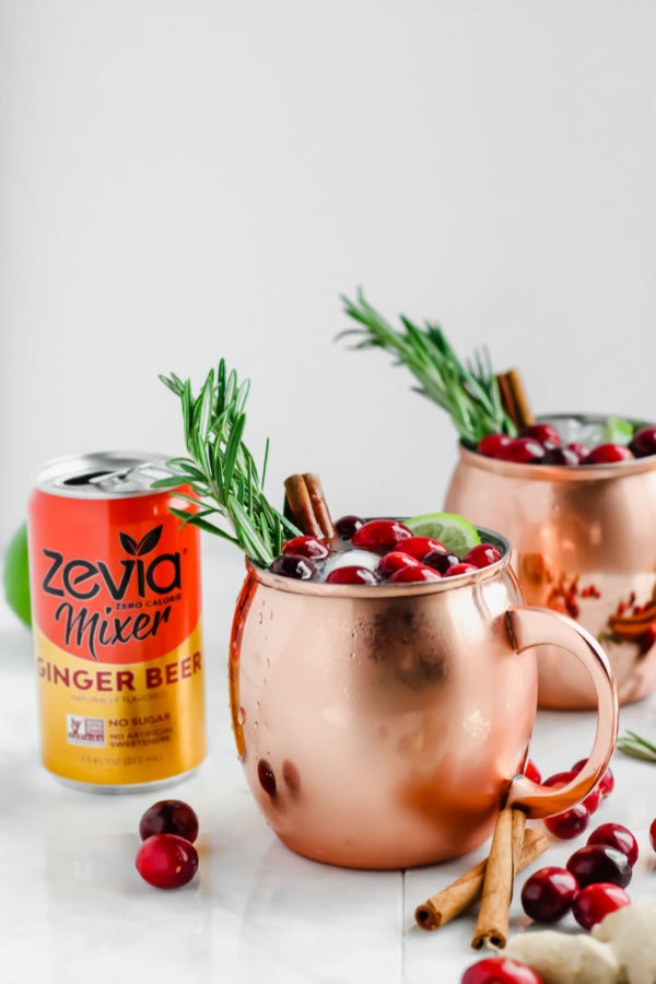 Cranberry Smash Moscow Mule