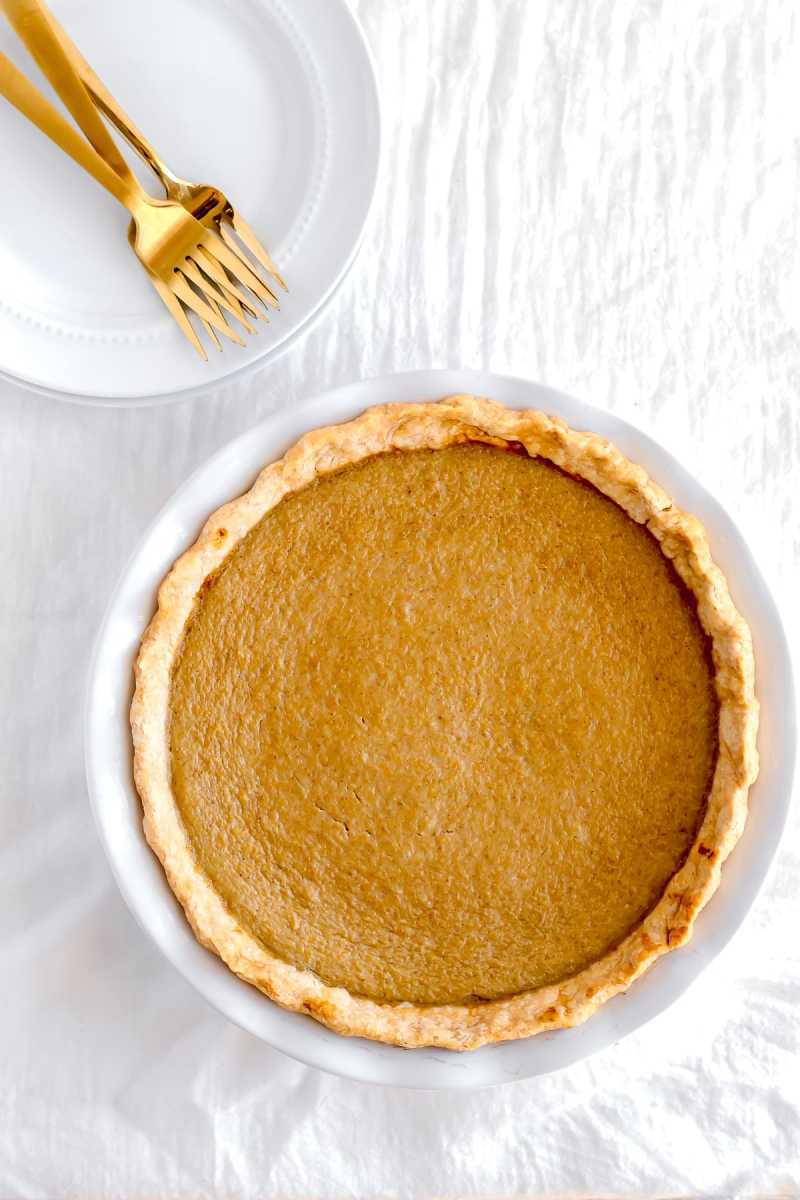 Delicious Dairy-Free Pumpkin Pie
