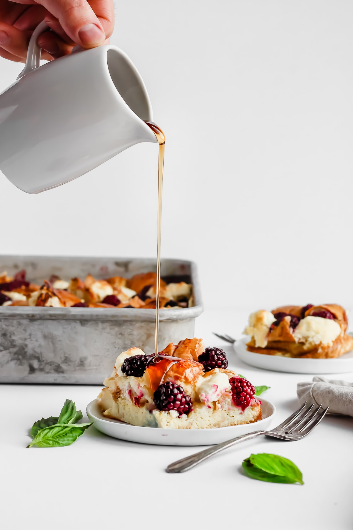 Dairy Free Blackberry French Toast - the perfect breakfast for Christmas morning!! #dairyfree
