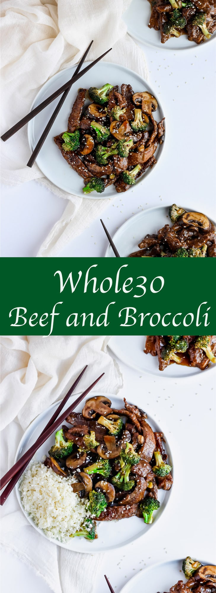 Whole30 Beef and Broccoli - the perfect weeknight meal!