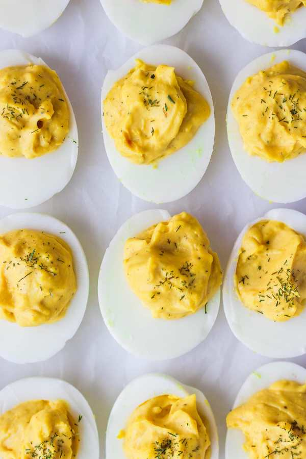Classic Whole30 Deviled Eggs