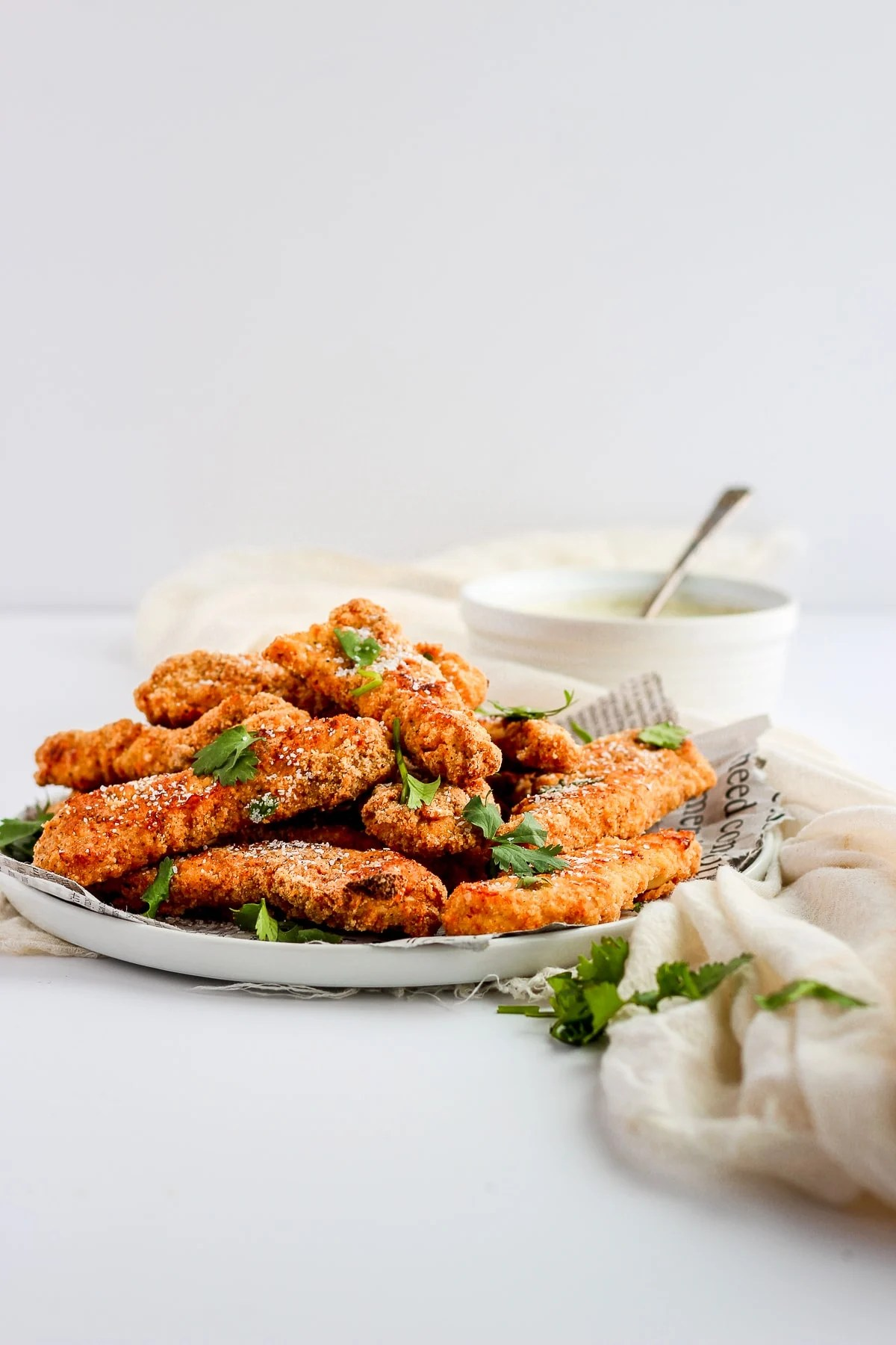 Easy Whole30 Chicken Tenders - a quick and easy dinner that is always kid-approved! #whole30 #paleo