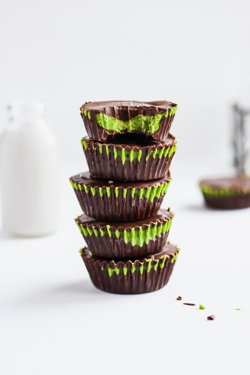 Paleo Matcha Coconut Butter Cups