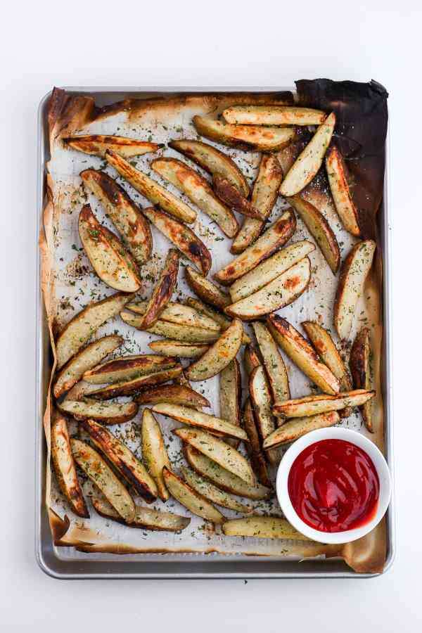 Perfectly Crispy Potato Wedges