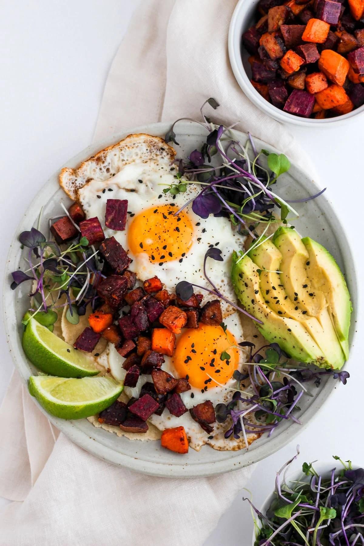 Easy Chorizo Breakfast Hash Tacos - paleo and Whole30-friendly